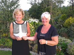 Ann Elliott with Pam Anstey